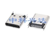 浙江Type c Female夹板1.0短体H=9.3