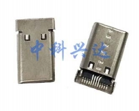 南京USB CM 12PIN SMT 公头